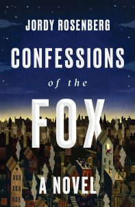 Jordy Rosenberg - Confessions of the Fox book cover