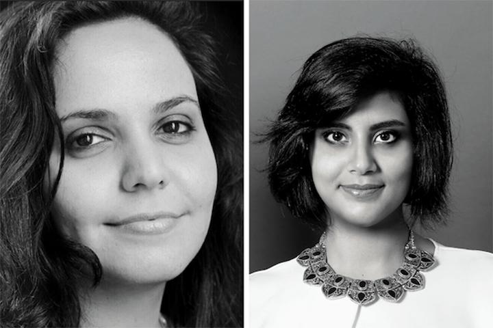 Headshots of Eman Al-Nafjan and Loujain Al-Hathloul