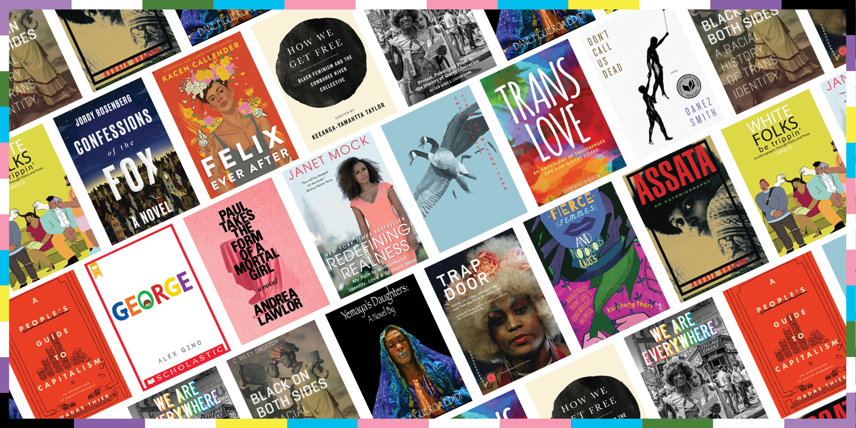 Transgender Awareness Week reading list - book covers