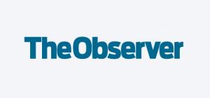 Blue The Observer Logo