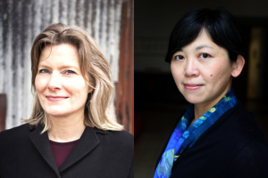 Jennifer Egan and Yiyun Li headshots