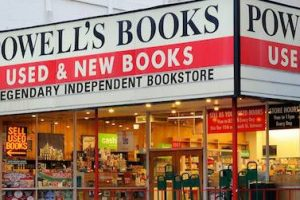 exterior image of powells books in portland