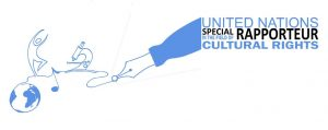 United Nations Special Rapporteur in the Field of Cultural Rights logo