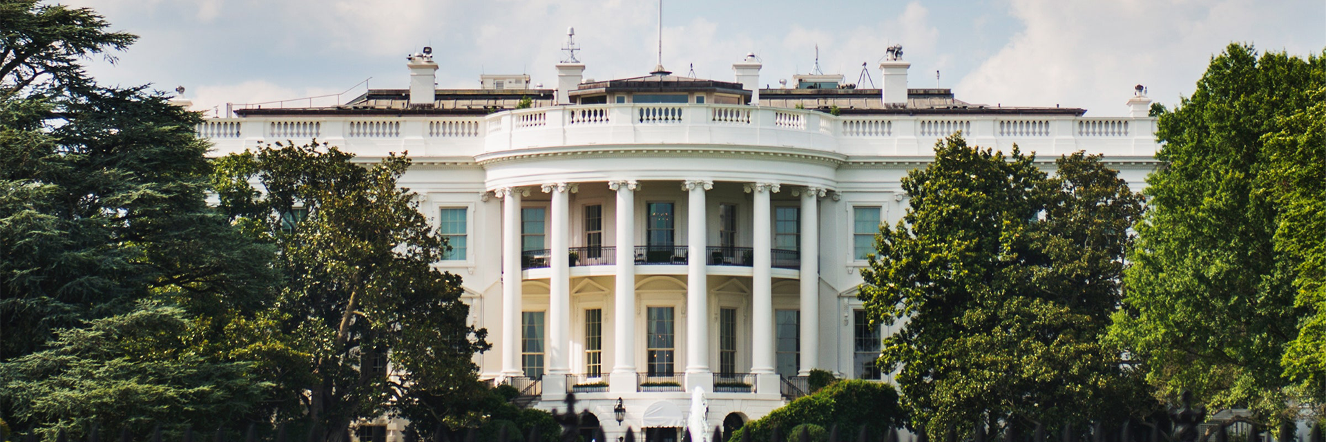 Exterior of White House
