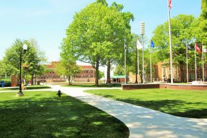 East Tennessee State University campus grounds