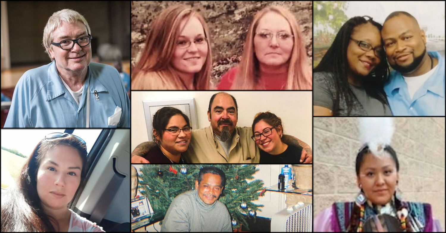 Mourning Our Losses graphic: photos of individuals who died while incarcerated during the pandemic