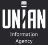 Black and white Unian logo
