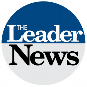 The Leader News logo