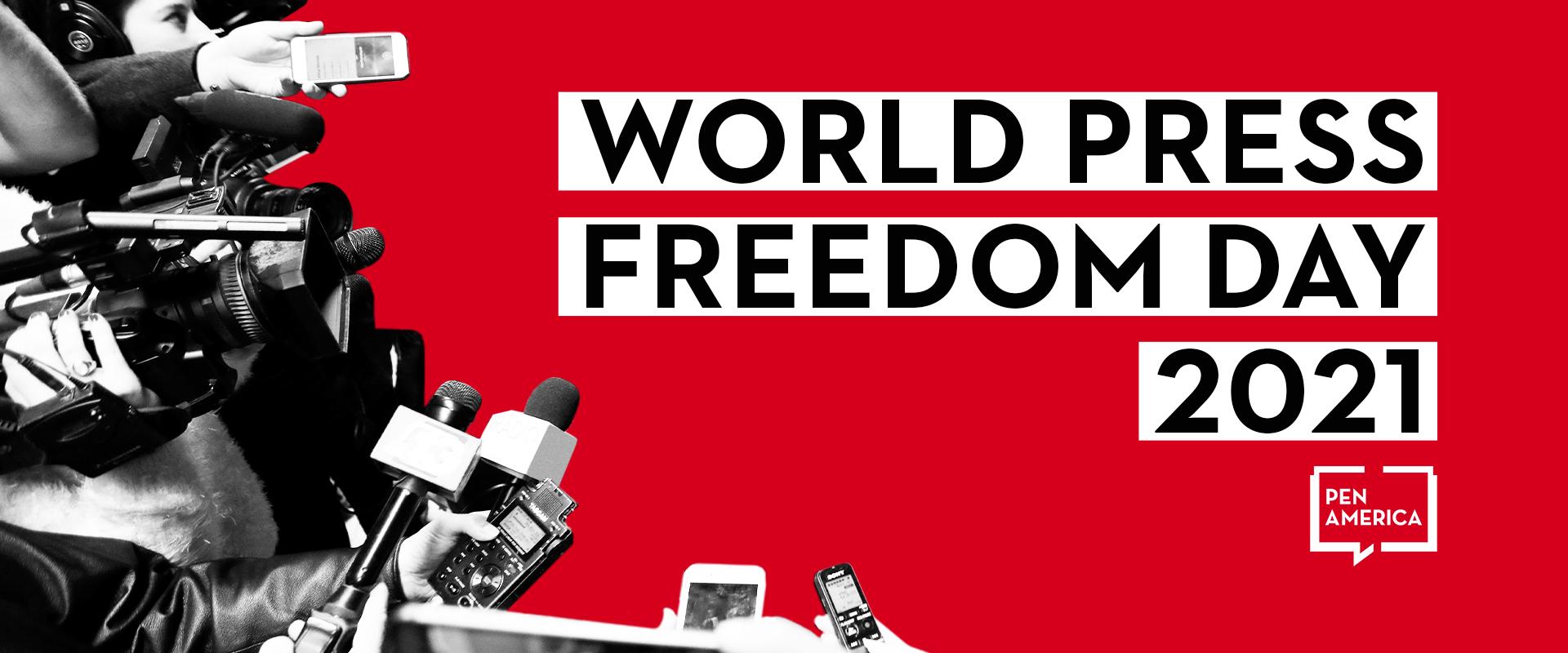 2021 World Press Freedom Day Hero Image
