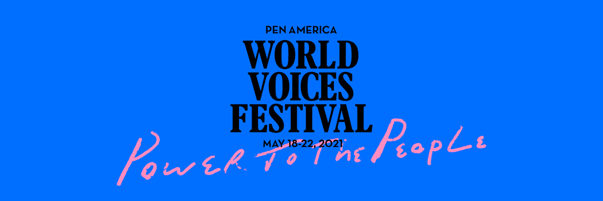 2021 World Voices Festival Hero Image