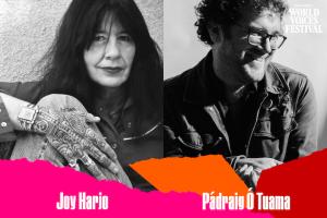 PEN Presents: Joy Harjo with Pádraig Ó Tuama