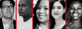 headshots of Trelaine Ito, Zach Stafford, Cierra Hinton, Willoughby Mariano, Sarah Rahal