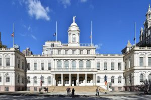 facade of New York City Hall