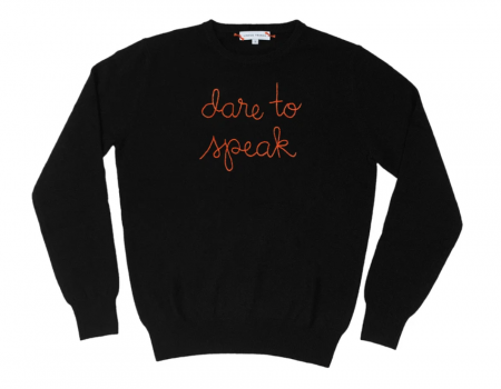 Lingua Franca Dare to Speak Sweater
