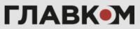 Glavcom logo- black and red