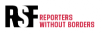 Reporters without Borders red and black logo