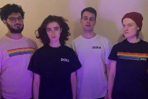 Four staff members of Doxa