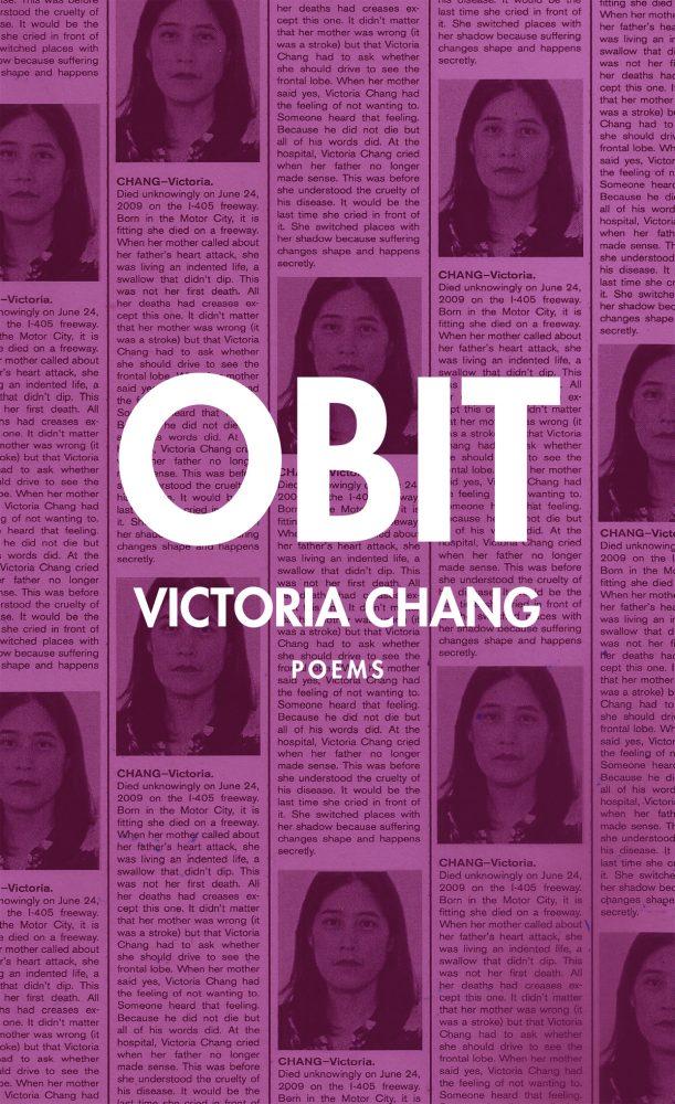 Obit book cover