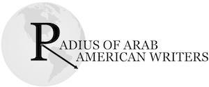 Radius of Arab American Writers Logo