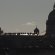 Shadows of the Admiralty building and St. Isaac's Cathedral in the background