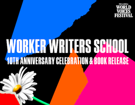 Worker Writers School Event Graphic 450x350