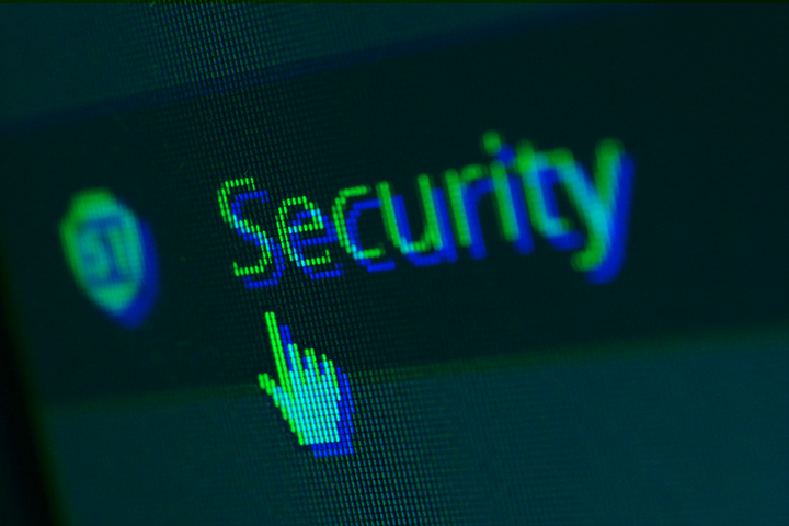 """stylized image of a heading reading """"Security"""" with a cursor"""