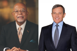 side by side images of Henry Louis Gates and Bob Iger