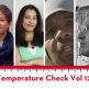 Temperature Check 12.0 graphic with headshots of Yukari Kane, Shaheen Pasha, Steve Brooks, and Joe Garcia