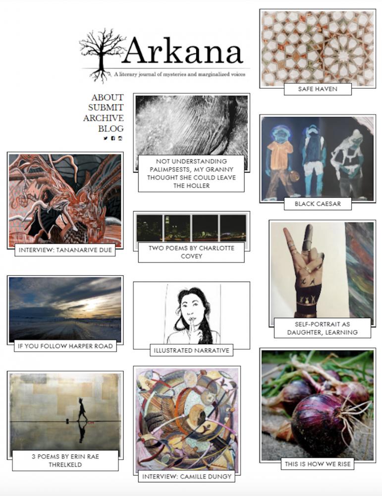 Screenshot of Arkana issue