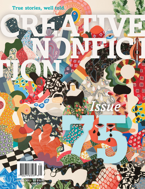 Issue 75 cover of Creative Nonfiction