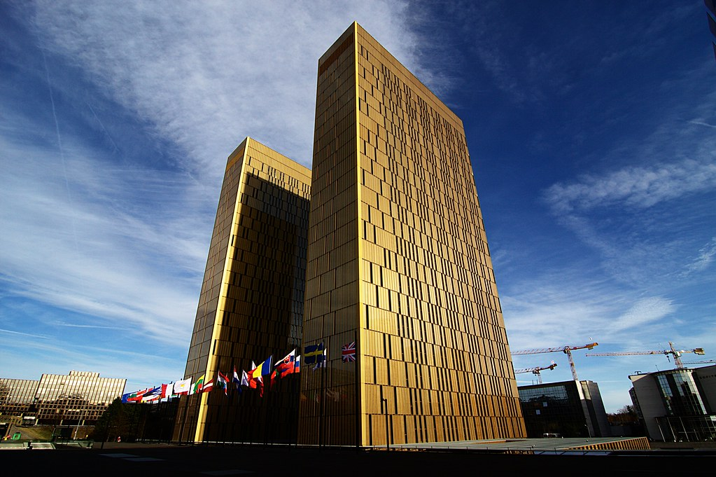 The buildings of the European Court of Justice