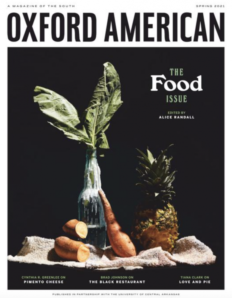 """""""The Food Issue"""" cover of Oxford American"""