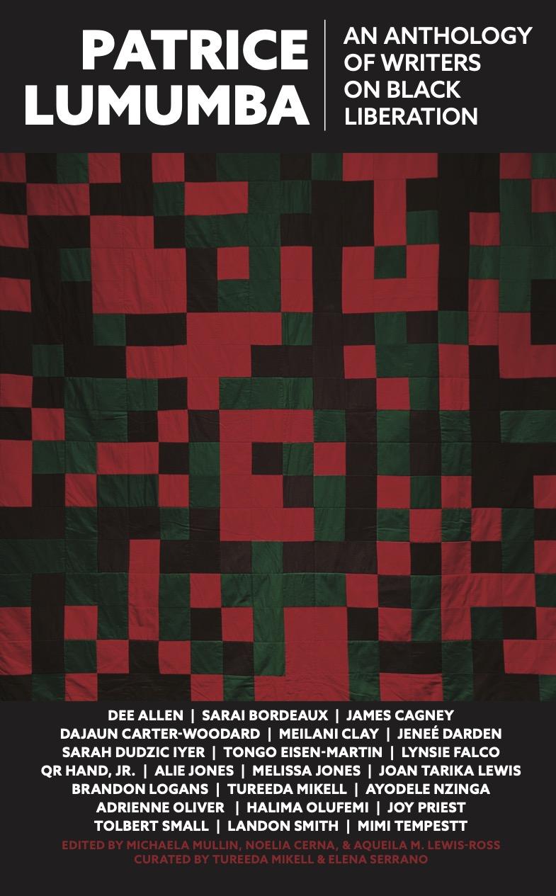 Patrice Lumumba anthology book cover