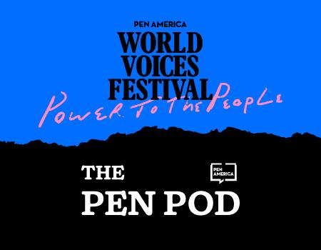 Pen Pod World Voices Festival Graphic