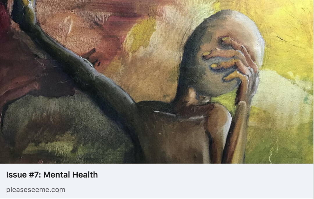 """""""Mental Health"""" issue cover of Please See Me"""