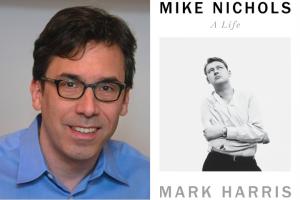 "Mark Harris headshot and ""Mike Nichols: A Life"" book cover"