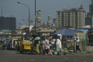 image of a street in Lagos