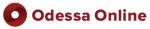 Odessa Online Logo red and white