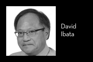 "David Ibata's headshot on left; on right: ""David Ibata"""