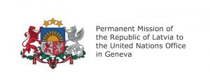 Permanent Mission of the Republic of Latvia to the United Nations Office in Geneva logo