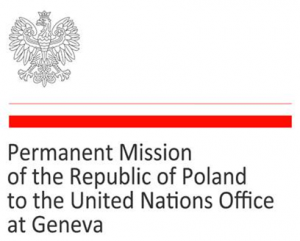 Permanent Mission of the Republic of Poland to the United Nations Office at Geneva logo