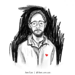 Danny Fenster illustration by Amy Lee