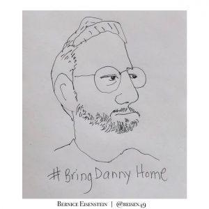 Danny Fenster illustration by Bernice Eisenstein