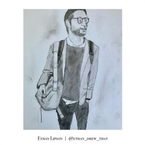Danny Fenster illustration by Ethan Lipson