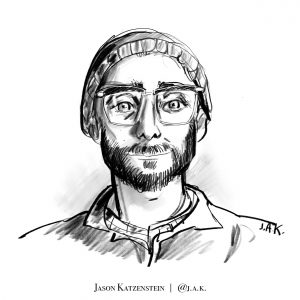 Danny Fenster illustration by Jason Katzenstein