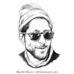 Danny Fenster illustration by Mika Ren Malone