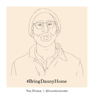 Danny Fenster illustration by Neil Dvorak