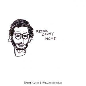 Danny Fenster illustration by Ralph Hanan