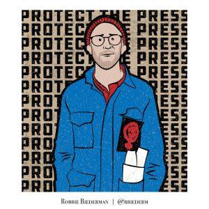 Danny Fenster illustration by Robbie Biederman