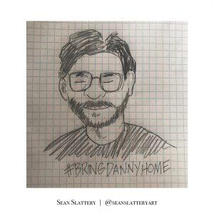 Danny Fenster illustration by Sean Slattery